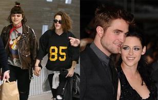 Bạn gái hiện tại của Kristen Stewart từng hẹn hò với... Robert Pattinson