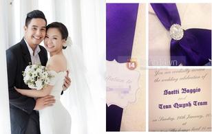 Soi loạt thiệp cưới từ đơn giản đến cầu kỳ của các cặp đôi nổi tiếng