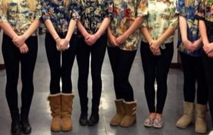 40 nữ sinh bị buộc rời khỏi lớp vì mặc quần legging
