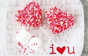Làm kẹo trái tim ngọt ngào tặng người ấy