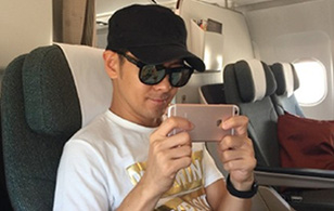 Lâm Chí Dĩnh đăng ảnh khoe iPhone 6S màu hồng