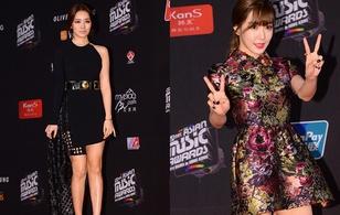 """Tiffany (SNSD), Yoon Eun Hye bị chê """"dừ"""" và kém sắc tại MAMA 2014"""
