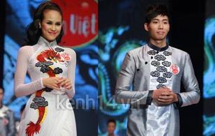 Phương Mai và Hữu Long đăng quang Siêu mẫu 2012