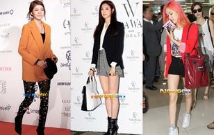 Cách mix blazer/vest cá tính của kiều nữ Hàn