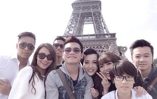Khắc Việt khoe ảnh du lịch châu Âu cùng Hồng Quế, Bích Phương