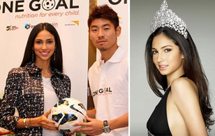 Hoa hậu hoàn vũ 2011 trở thành đại sứ của Liên đoàn bóng đá châu Á