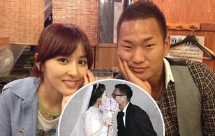 """""""Rooney châu Á"""" khoe ảnh cưới chụp cùng nữ diễn viên xinh đẹp Han Hye Jin"""