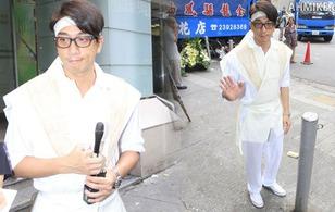 Sao TVB Ngô Trác Hy nghẹn ngào trong lễ đưa tang cha