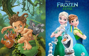 """Tarzan là em trai """"lưu lạc"""" của Elsa và Anna (Frozen)?"""