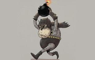 """Dung nhan """"già như quả cà"""" của các nhân vật hoạt hình khi tuổi xế chiều"""