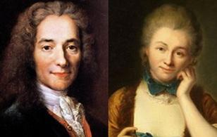 """""""Nàng thơ"""" của """"Ông vua không ngai"""" Voltaire"""