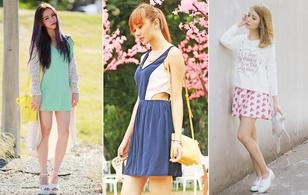 """Váy hè bắt đầu """"lên ngôi"""" cùng street style thế giới"""