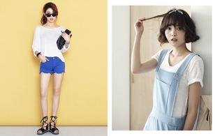 5 kiểu áo phông trắng mặc thế nào cũng đẹp