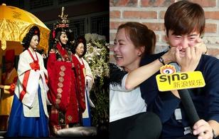Chae Rim và Cao Tử Kỳ hạnh phúc sau đám cưới cổ trang
