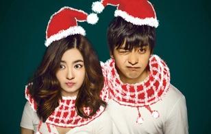 Tân Tiểu Yến Tử - Nhĩ Khang tung ảnh hạnh phúc đón Giáng Sinh