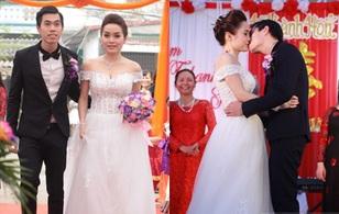 """Đám cưới đơn giản của nữ ca sĩ """"Tình yêu màu nắng"""""""