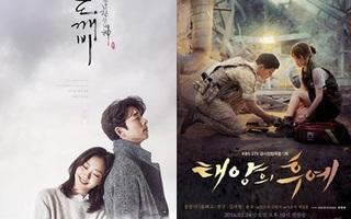 """Goblin """"hạ bệ"""" Hậu Duệ Mặt Trời, Huyền Thoại Biển Xanh để trở thành hiện tượng phim Hàn năm 2016"""