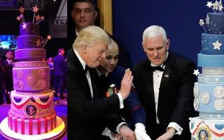 """Sau sự cố """"đạo"""" bài phát biểu của bà Melania lại đến vụ """"đạo bánh"""" trong lễ nhậm chức của Tổng thống Donald Trump"""