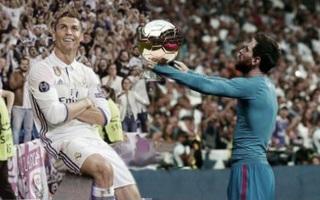 Khổ thân Messi bị biến thành trò cười trong ngày Ronaldo đi vào lịch sử