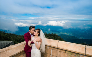 """Bộ ảnh gần 100 triệu của cặp đôi đám cưới """"khủng"""" ở Sài Gòn"""