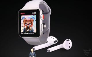 Apple vừa giới thiệu Apple Watch Series 3: thiết kế không đổi, có thể cắm SIM và chứa được hơn 40 triệu bài hát