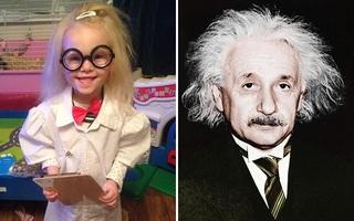 """Bé gái 5 tuổi mắc bệnh """"tóc chổi rơm"""" giống nhà bác học Einstein"""