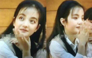 25 năm trước Triệu Vy đã đáng yêu thế này, chẳng trách Huỳnh Hiểu Minh ngày ấy mê mẩn
