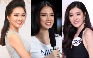 """Nhan sắc 10 người đẹp đầu tiên lọt vào Bán kết """"Hoa hậu Hoàn vũ Việt Nam 2017"""""""