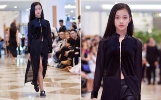 Mới 10 tuổi, cô bé này đã đăng ký casting Vietnam International Fashion Week và nổi bật lấn lướt người lớn với thần thái sắc lạnh