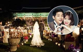 Hé lộ giá tiền tỷ mà Song Joong Ki - Song Hye Kyo bỏ ra để thuê địa điểm tổ chức đám cưới sang chảnh bậc nhất