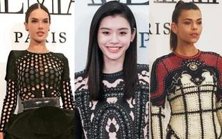 """Ming Xi lần đầu xuất hiện sau cú ngã """"sấp mặt"""", rạng rỡ khoe sắc bên dàn thiên thần Victoria's Secret"""