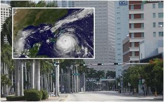 """Florida vắng vẻ lạ thường trong cuộc sơ tán lớn nhất trong lịch sử Mỹ vì siêu bão """"quái vật"""" Irma"""