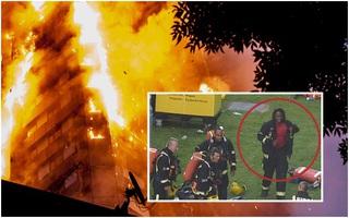 """Tâm sự của người lính cứu hỏa đầu tiên có mặt tại tòa tháp đang bốc cháy: """"Những tiếng la hét sẽ mãi ám ảnh tôi"""""""