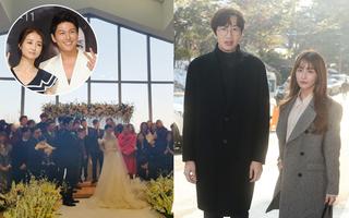 """Rò rỉ hình ảnh bên trong đám cưới bí mật của kiều nữ """"Gia đình là số một"""" Park Ha Sun"""