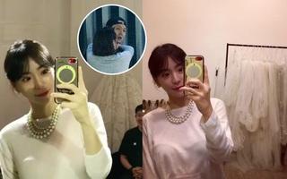 """Vị hôn thê gia thế """"khủng"""" của Yoochun đã bắt đầu đi thử váy cưới?"""