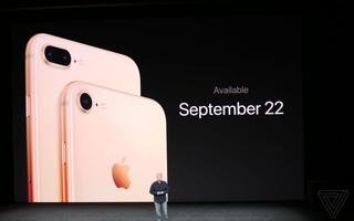 """iPhone 8 và 8 Plus chính thức ra mắt: Có phiên bản màu """"Vàng Thẹn Thùng"""" ai nhìn cũng mê!"""