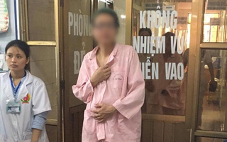 """Hình ảnh """"hot girl Bella"""" một thân một mình đi sinh con ở bệnh viện khiến nhiều người xót xa"""