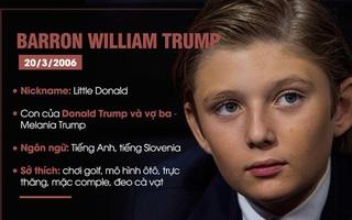 Cậu út nhà Trump và cuộc sống của con Tổng thống Mỹ