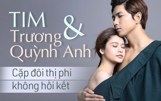 Tim và Trương Quỳnh Anh: Cặp đôi thị phi mãi mà không thấy hết năm 2017