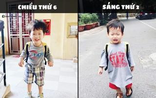 """Loạt ảnh chế """"meme"""" đưa Đậu nhà Nam Thương - Ba Duy lên ngôi em bé có gương mặt giải trí nhất MXH"""