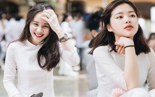 """""""Đặc sản"""" lễ bế giảng trường Phan Đình Phùng: Cả một trời trai xinh gái đẹp"""