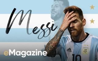 Không có vinh quang cho Messi, bởi anh không đổ máu vì nó