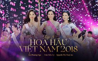 Người đẹp 10x Trần Tiểu Vy đăng quang Tân hoa hậu Việt Nam 2018