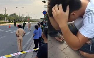 Vụ 2 vợ chồng bị container cán tử vong khi chở 2 con nhỏ đi mua quần áo Tết: Tài xế ôm mặt khóc rưng rức khi biết sự việc đau lòng