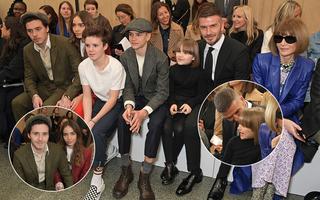 """Gia đình Beckham """"dắt díu"""" đi sự kiện: Tưởng Brooklyn và bạn gái gây chú ý, ai dè David - Harper mới là tâm điểm"""
