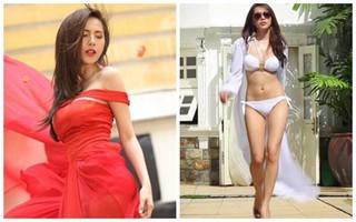 """Thủy Tiên diện bikini """"khoe"""" body bốc lửa trong video clip"""