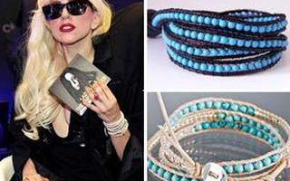 Có ai muốn chiếc vòng tay giống của Lady Gaga không?