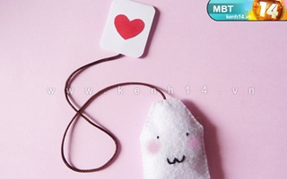 Bookmark túi trà xinh xinh cho teens mọt sách