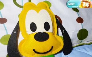 Cách may gối chó Pluto dễ hơn ăn kẹo