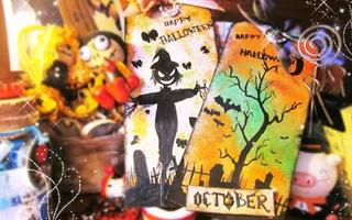 Bookmark theo phong cách Halloween